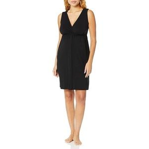 Motherhood Maternity Women's 3 in 1 Labor, Delivery, and Nursing Gown black new